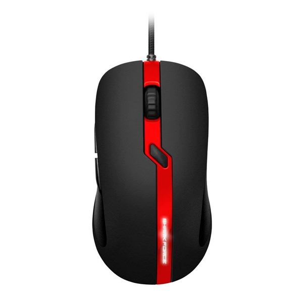 Sharkoon Force PRO USB 3200DPI Rojo - Ratón