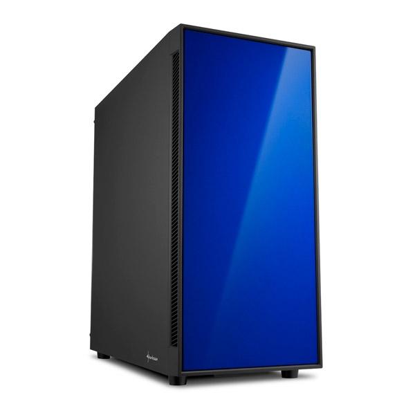 Sharkoon AM5 Silent negra azul ATX - Caja