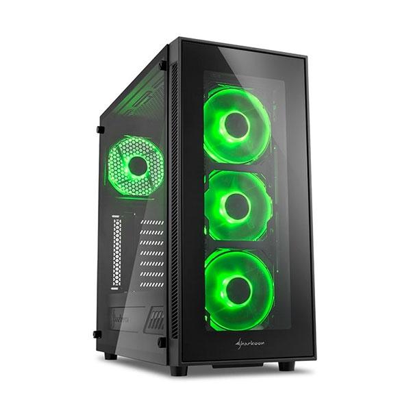 Sharkoon TG5 negro verde – Caja