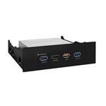 Sharkoon VR USB 3.0 Universal Panel frontal - Accesorio