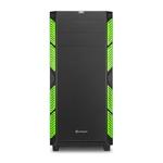 Sharkoon AI7000 silent negra / verde ATX - Caja
