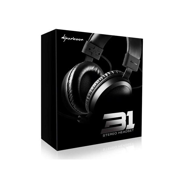 Sharkoon B1 negro - Auricular