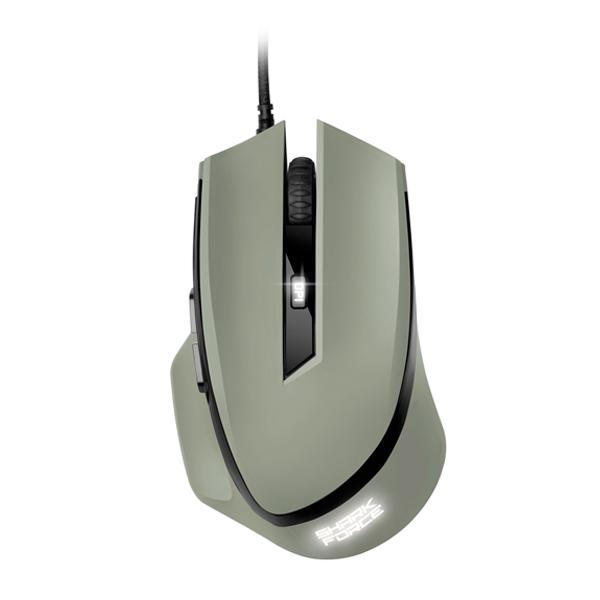 Sharkoon SHARK Force gris USB 1600 DPI - Ratón