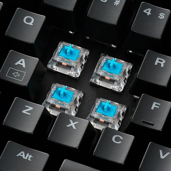 Sharkoon Skiller mech SGK3 RGB switch blue - Teclado