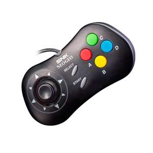 SNK Mando para Neo-Geo Mini Negro - Gamepad
