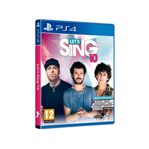 Sony PS4 Let's Sing 11 - Videojuego