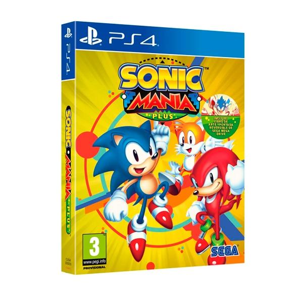 Sony PS4 Sonic Mania Plus - Videojuego