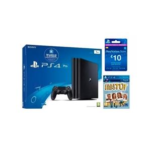 Sony PlayStation 4 Pro 1TB + 10€ PSN + ¡Has sido tú!
