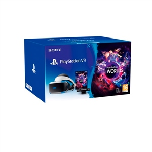 GAFAS SONY PLAYSTATION VR MK4+VR WORLDS