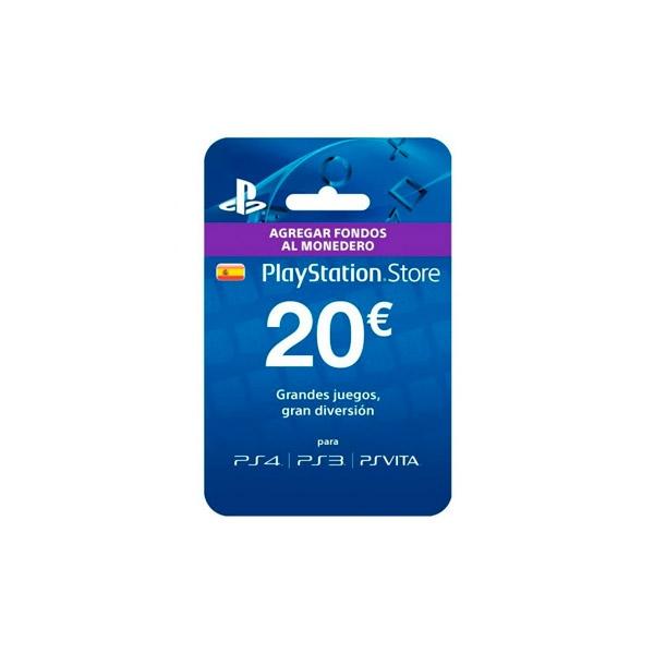 Sony Tarjeta Monedero PS Store 20€ - Accesorio