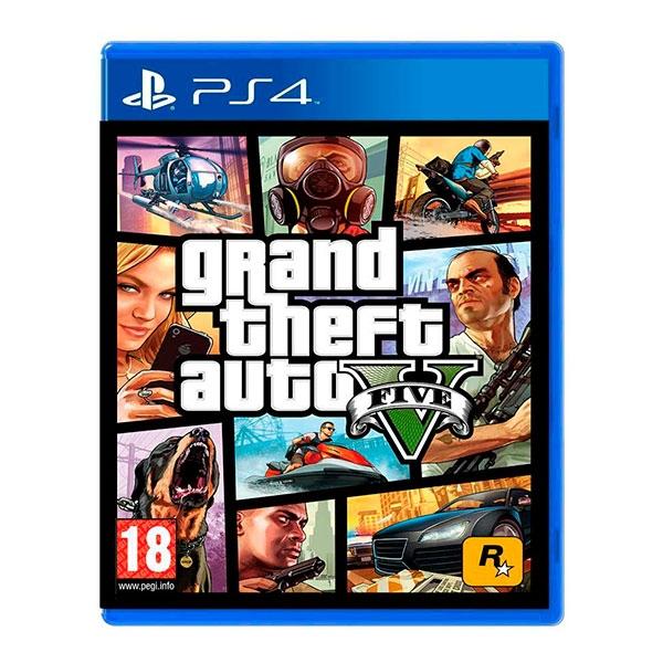 Sony PS4 GTA V – Videojuego
