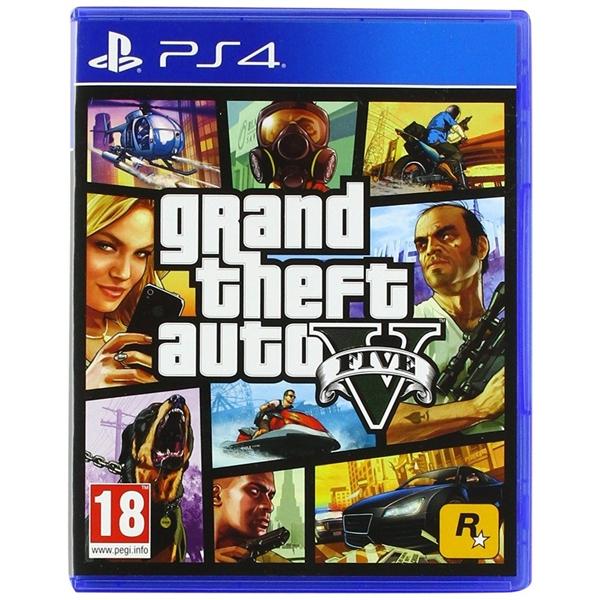 Sony PS4 Gran Theft Auto V – Videojuego