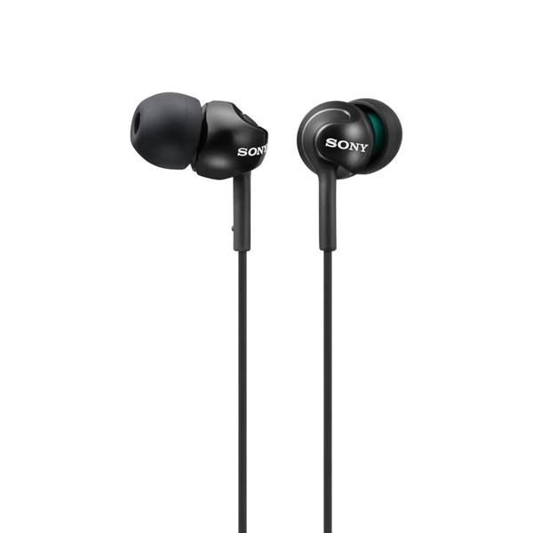 Sony MDR-EX110LP con microfono negro – Auriculares