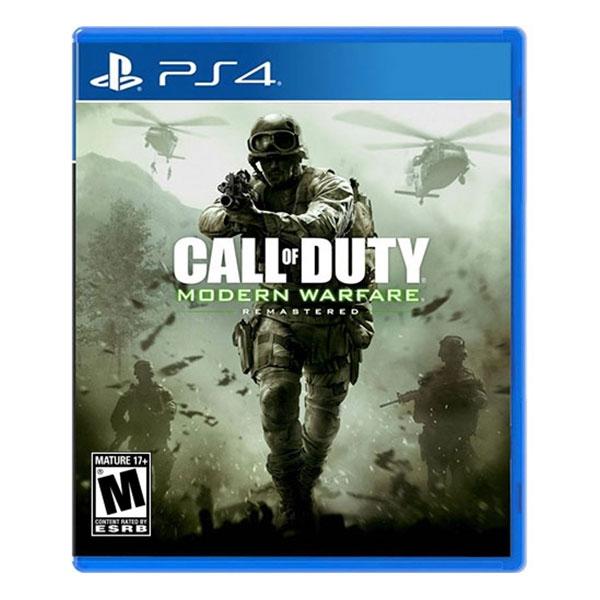 Sony PS4 Modern Warfare Remastered – Videojuego