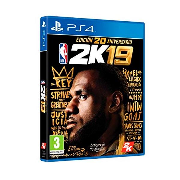 Sony PS4 NBA 2K19 Edición 20 aniversario - Videojuego