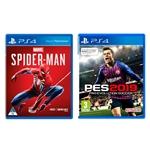 Sony PS4 Slim 1TB + Spiderman + PES 2019 - Consola