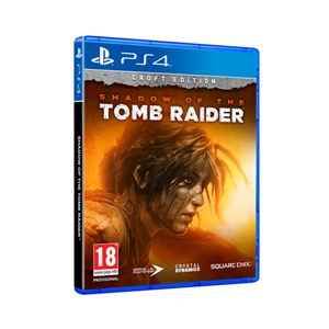 Sony PS4 Shadow of the Tomb Raider Ed. Croft - Videojuego