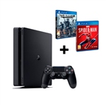 Sony PS4 Slim 500GB + Spider-Man + Nier Autómata - Consola