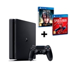 Sony PS4 Slim 500GB + Spider-Man + FF XV Royal Edition
