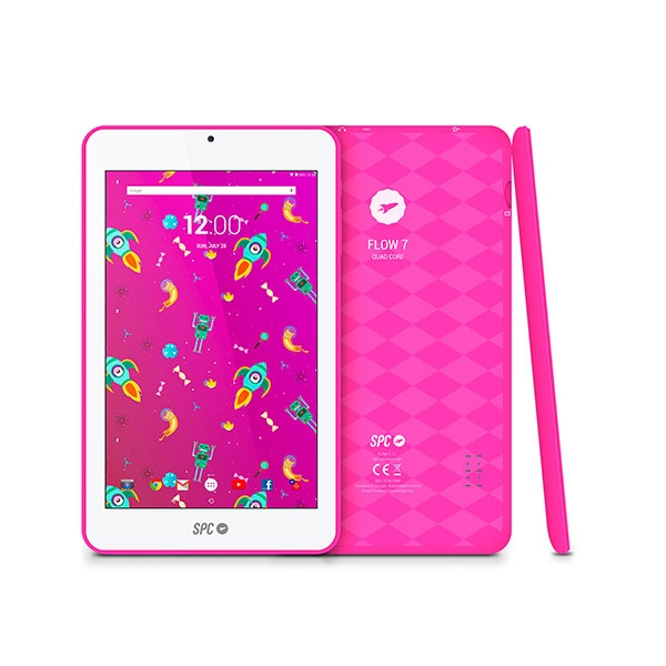 SPC FLOW 7 QCA53 1GB 8GB Android 7 Rosa – Tablet