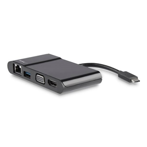 Startech USB C a HDMI o VGA 4K USB 3.0 - Adaptador