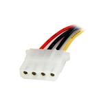 StarTech 30cm Adaptador Molex 4 Pines a SATA - Cable