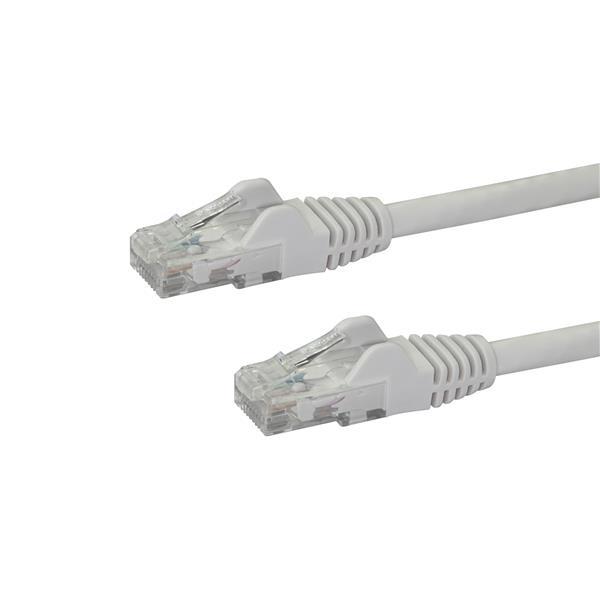 Startech latiguillo 1 M blanco CAT6 UTP - Cable de red