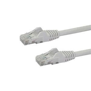 Startech latiguillo 1 M blanco CAT6 UTP - Cable de red