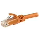 Startech latiguillo 3 M naranja CAT6 UTP - Cable de red