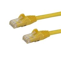 Startech latiguillo 3 M amarillo CAT6 UTP - Cable de red
