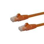 Startech latiguillo 0.5 M naranja CAT6 UTP - Cable de red