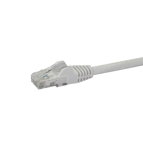 Startech latiguillo 0.5 M blanco CAT6 UTP - Cable de red