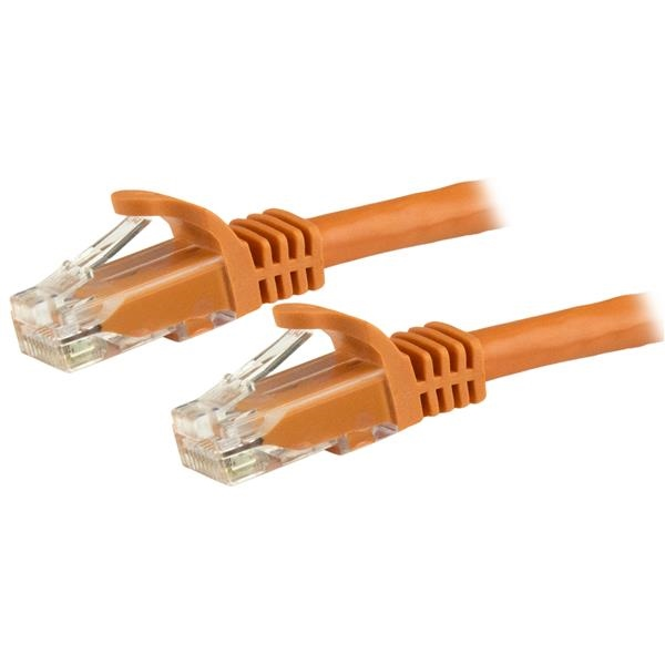 Startech latiguillo 5 M naranja CAT6 UTP - Cable de red