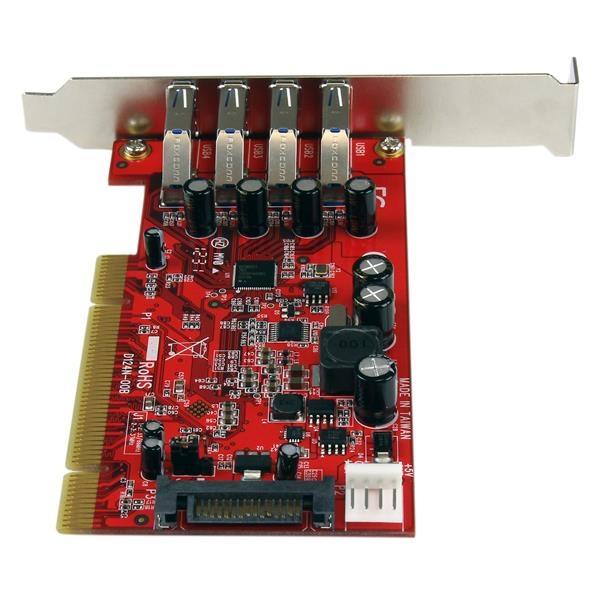 Startech PCI 3.0 X 4 superspeed - Adaptador