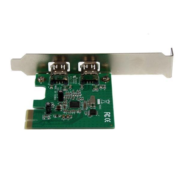 Startech 2 puertos Firewire 400 PCI-E - Adaptador
