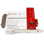 Startech PCIe x4 a M.2 NVMe/AHCI - Adaptador