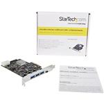 Startech PCI-E USB 3.1 a X 3 USb C x1 - Adaptador