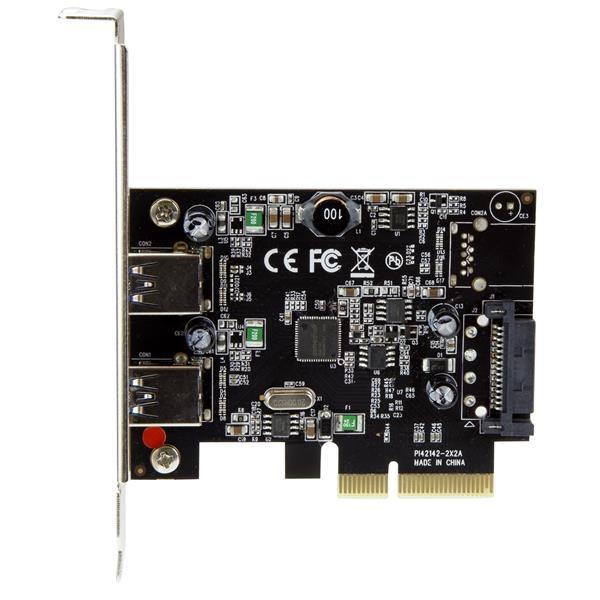 Startech PCI-E 2X USB 3.1 - Adaptador