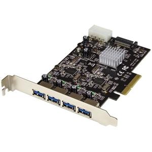 Startech PCI-E 4 USB 3.1 - Adaptador