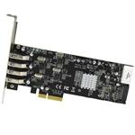 Startech PCI-E 4 USB 3.0 UASP - Adaptador