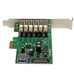 Startech PCI-E 7 puertos USB 3.0 - Adaptador