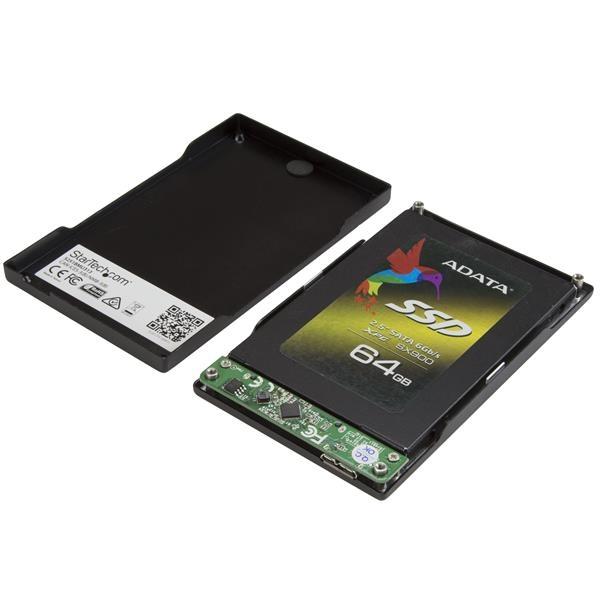 """StarTech Caja USB 3.1 Gen 2 de 2,5"""" HDD - Caja HDD externa"""