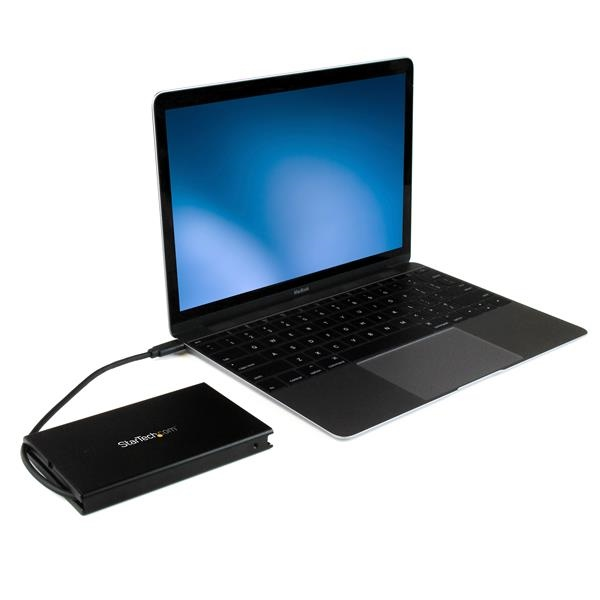 "Startech USB 3.1 a USB C para 2.5"" SATA III - Caja HDD"