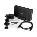 """StarTech.com 3.5"""" USB 3.0 SATA3 aluminio con UASP - Caja HDD"""