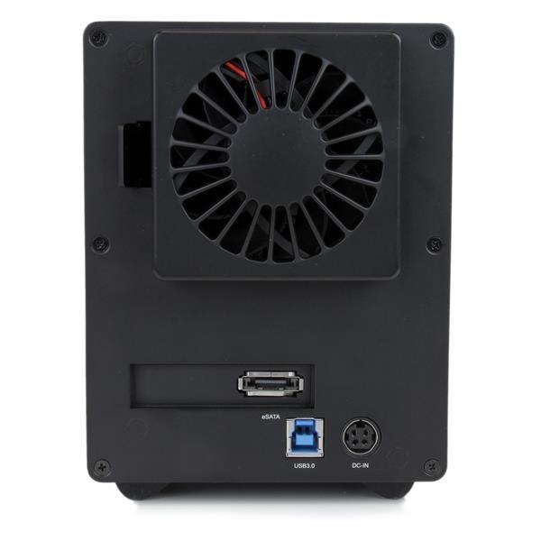 "StarTech USB 3.0 4 Bahías de 3,5"" SATA 3 UASP - Caja HDD"