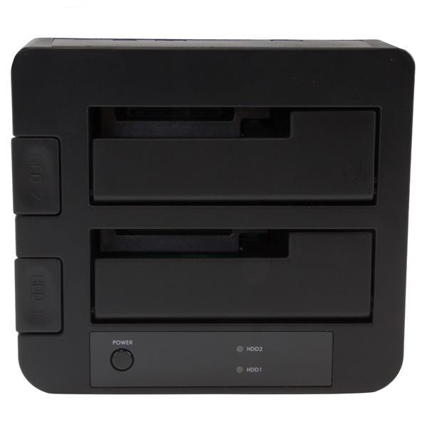 "Startech 2 bahías  de hdd 2.5"" / 3.5"" a USB 3.1 - Dock"