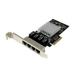 Startech GBLAN 4 LAN RJ45 Chip intel i350 – Tarjeta de red