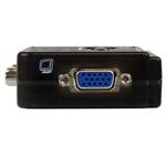 StarTech conmutador KVM de 2 puertos VGA con audio - KVM