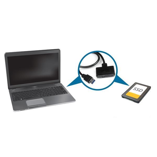 StarTech USB 3.0 con UASP a SATA III - Adaptador