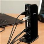 StarTech replicador de 2 monitores HDMI / DVI 6 X usB - Dock